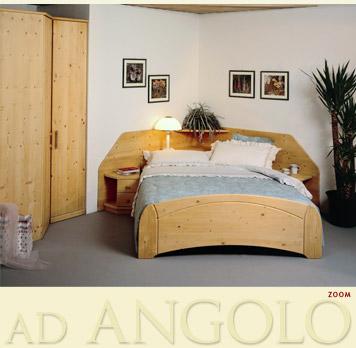 ... camere da letto ad angolo modello Martina in legno di abete massello